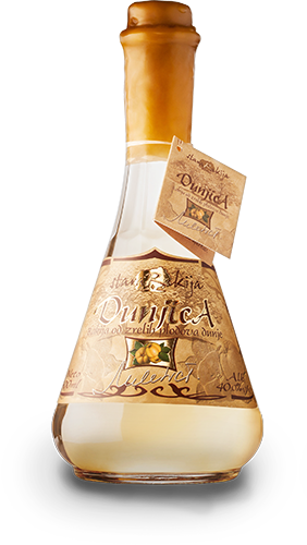 Bottle of Quince Brandy