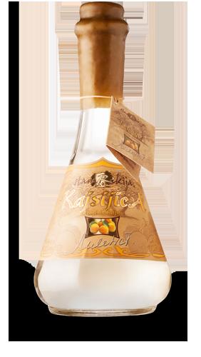 Bottle of Peach Brandy